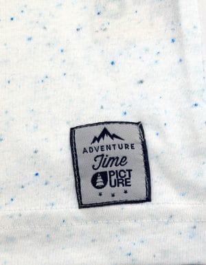 Club póló fehér Picture matrica közelről
