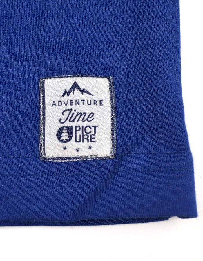 Club kék póló Picture matrica
