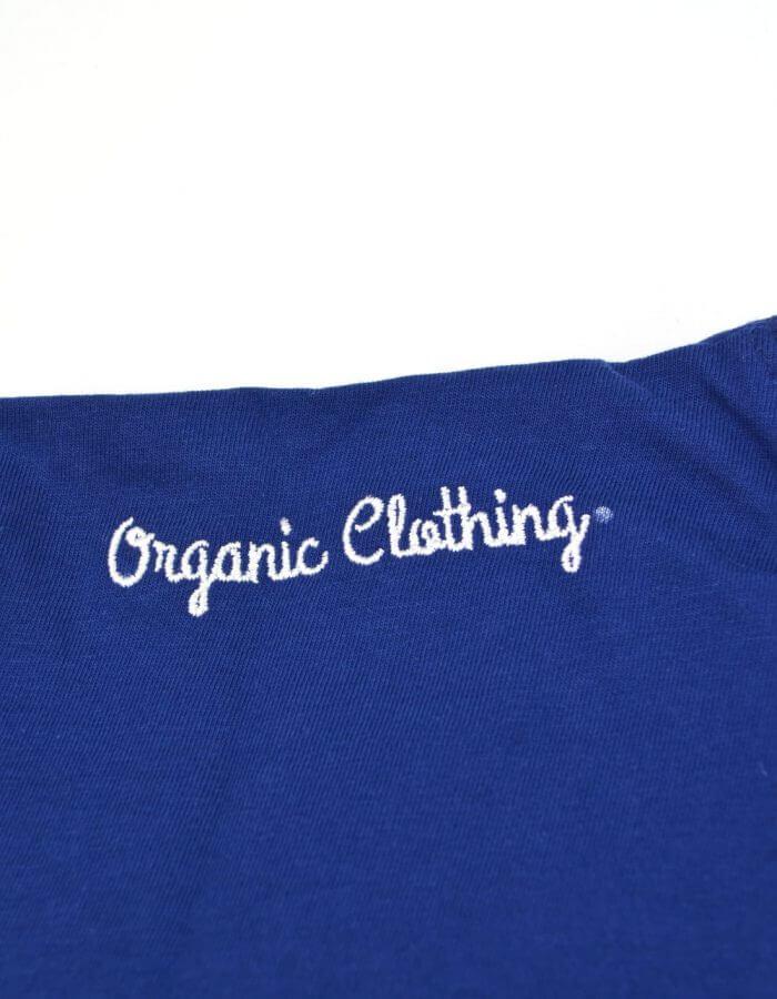 Club póló organic clothing felírat