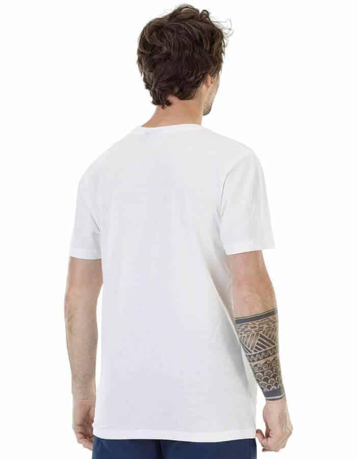 Wheel póló fehér színben