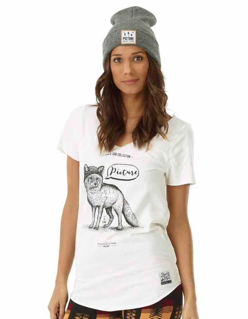 Fox női biopamut póló