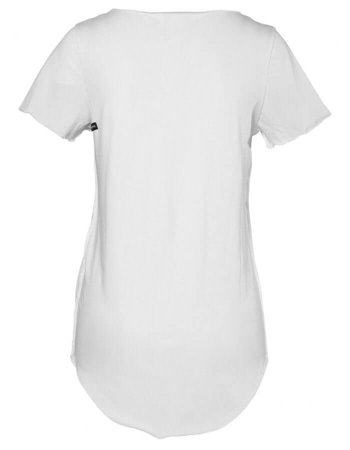Fox női biopamut póló hátulról