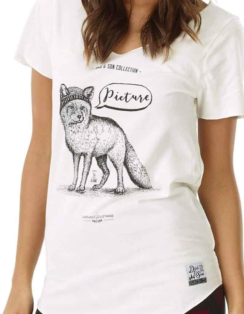 Fox női biopamut póló zoom 7dd9f283a2