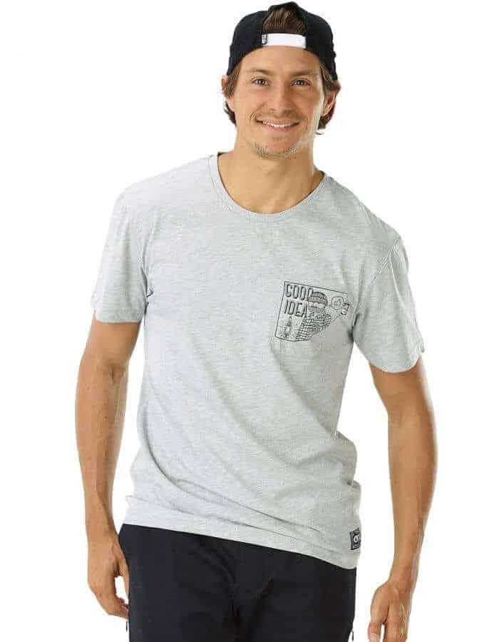 Good Idea férfi biopamut póló előröl