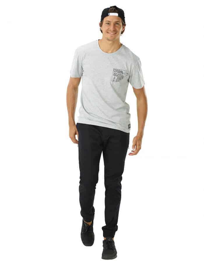 Good Idea férfi biopamut póló full