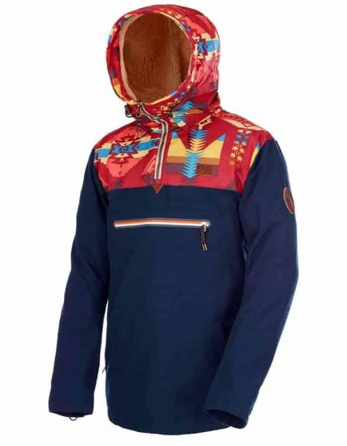 Hanko újrahasznosított férfi utcai kabát