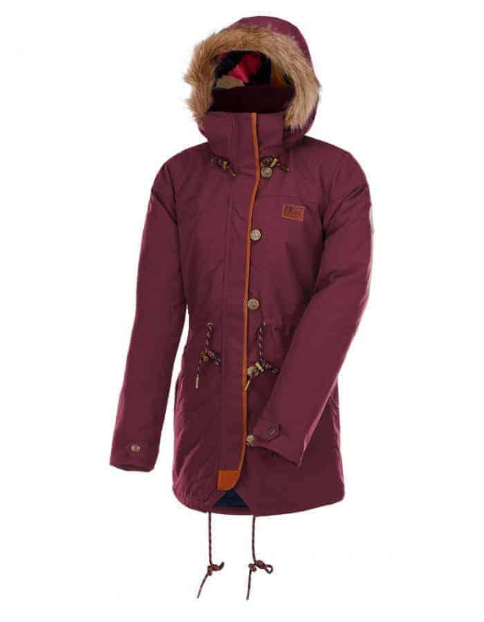 Katniss női kabát oldalról