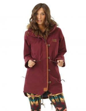 Katniss női kabát felvéve