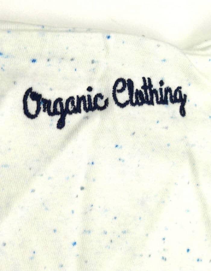 Lagoon póló Organic Clothing hímzés