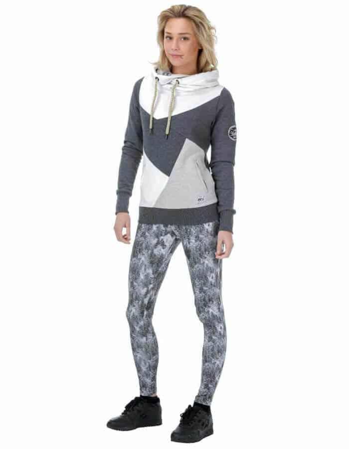 Kapucnis Lily női pulóver - távoli