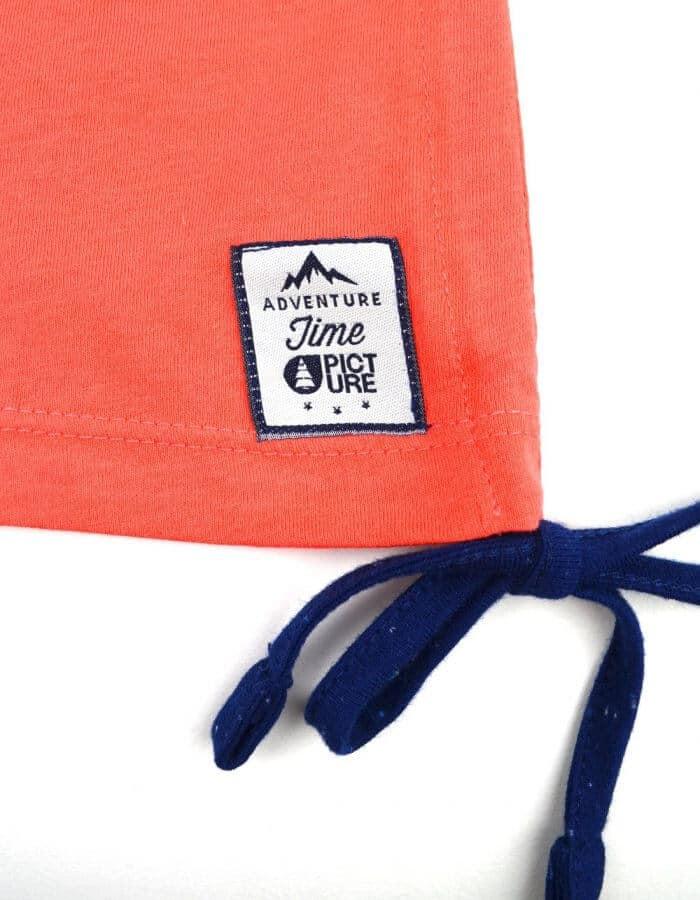 Move up biopamut ruha- felvarrt Picture címke közelről