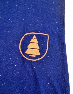 Kék Move up ruha, klasszikus picture logóval