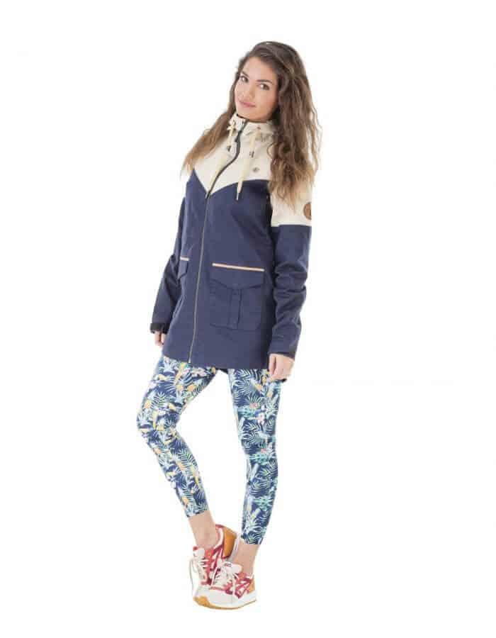 Nordic női átmeneti kabát teljes - Újra felhasznált pamut - Picture Organic Clothing
