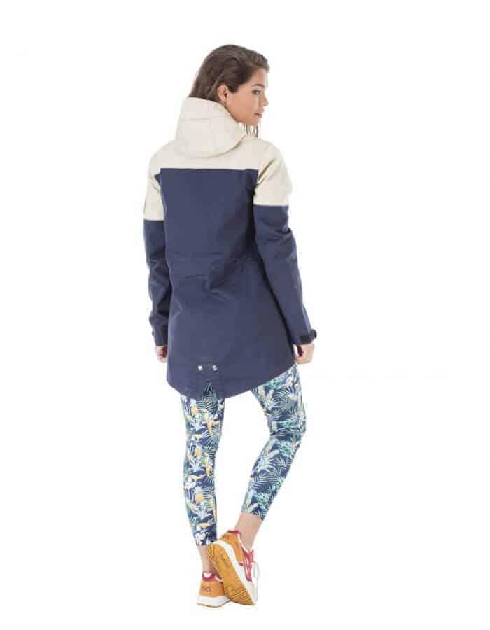Nordic női átmeneti kabát hátulról - Újra felhasznált pamut - Picture Organic Clothing