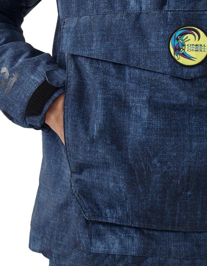 O'Neill Frozen Wave Anorák újrahasznosított poliészterből részlet