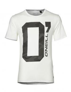 Oneill O fehér biopamut póló előröl