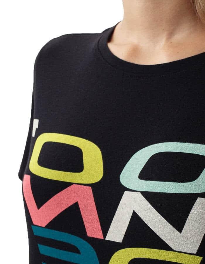 Oneill re-issue női biopamut póló előröl közlei