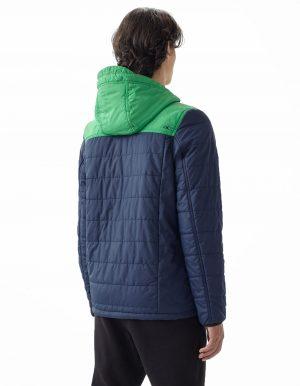O'Neill transit újrahasznosított férfi kabát hátulról