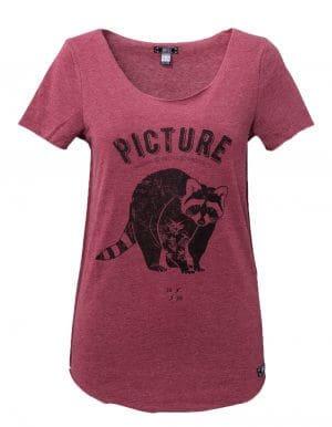 Page biopamut női póló előröl