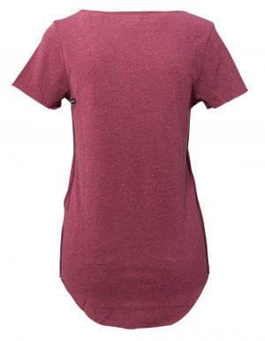 Page biopamut női póló hátulról