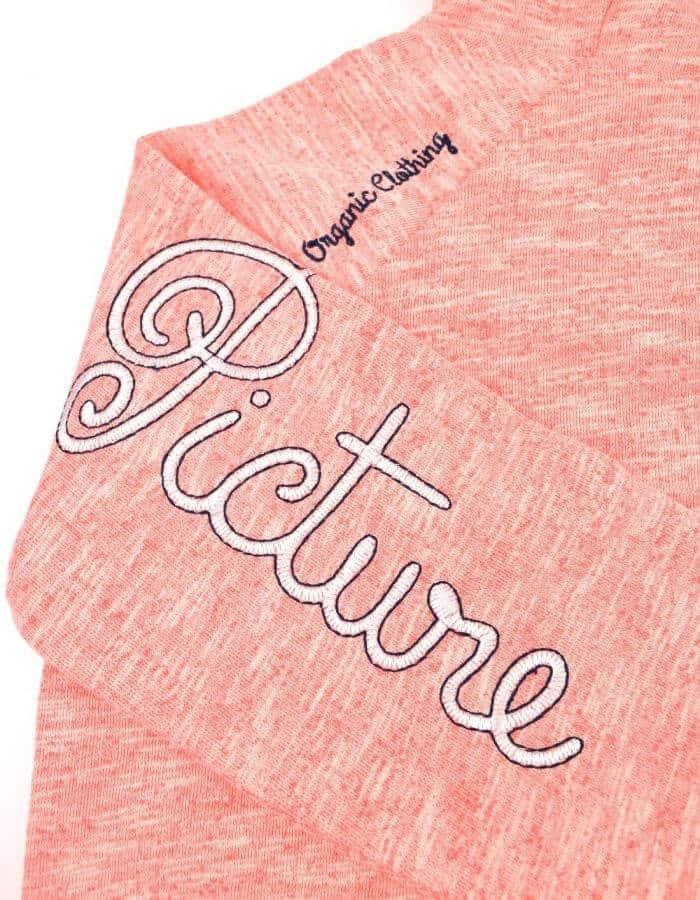 """Panda pulóver """" Organic Clothing """" hímzes"""