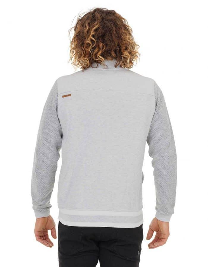Picture Boston férfi biopamut pulóver modell hátulról