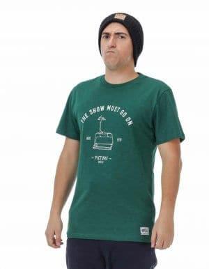 Runaway férfi póló zöld