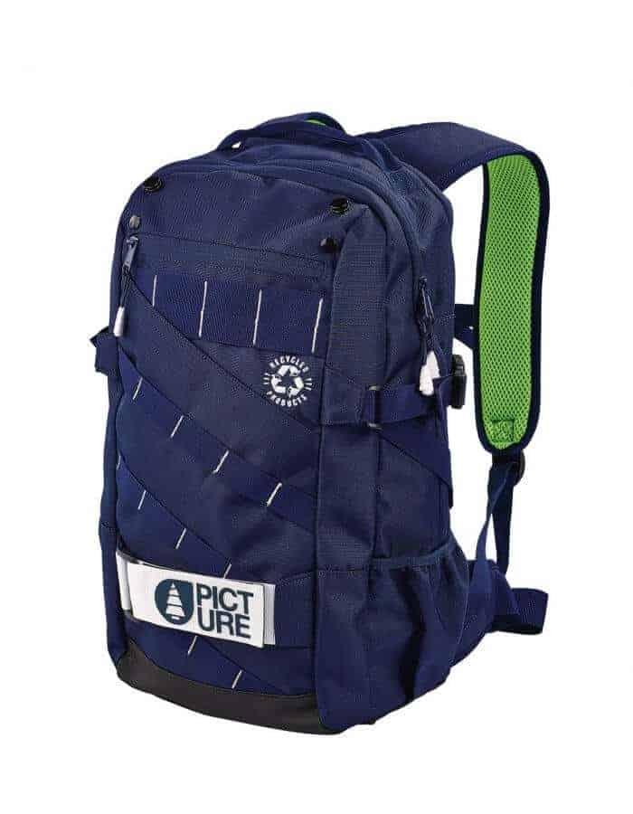 Schooler 2 sötétkék hátizsák újrahasznosított poliészterből