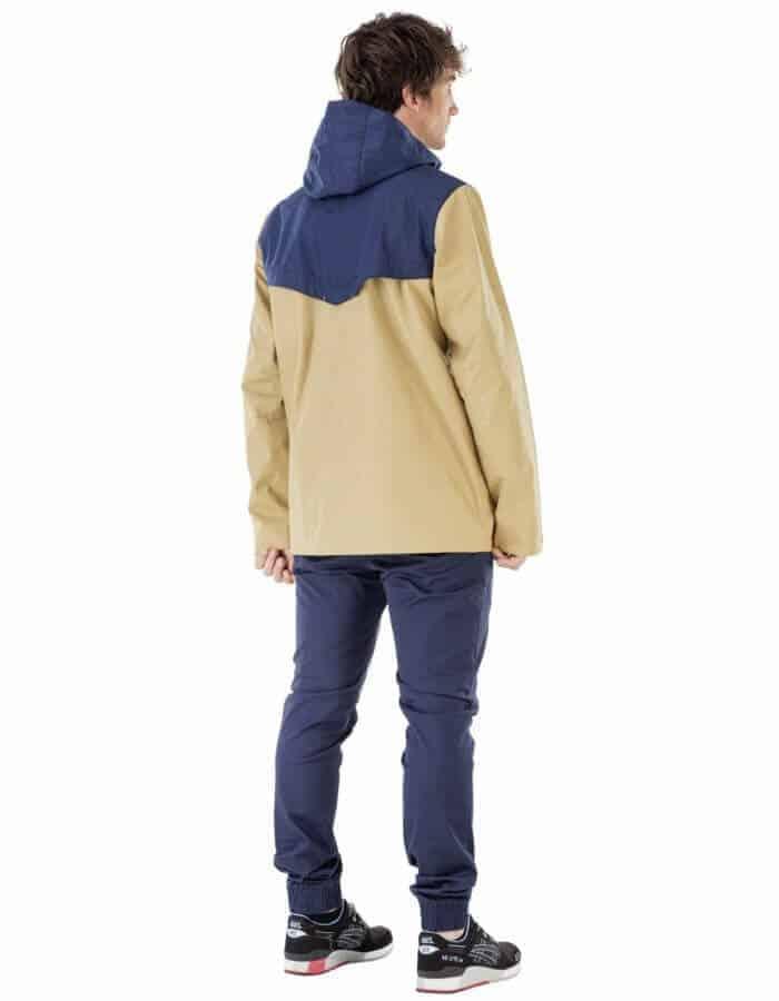 Snack átmeneti kabát hatulrol- bézs - Picture Organic Clothing