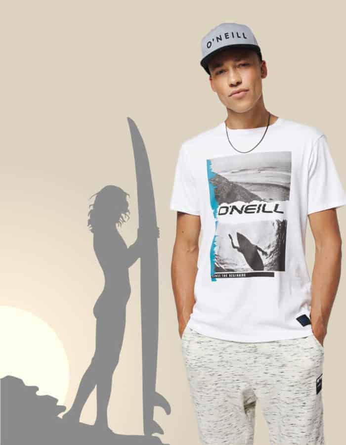 Seiche O'Neill póló termékkép háttérrel