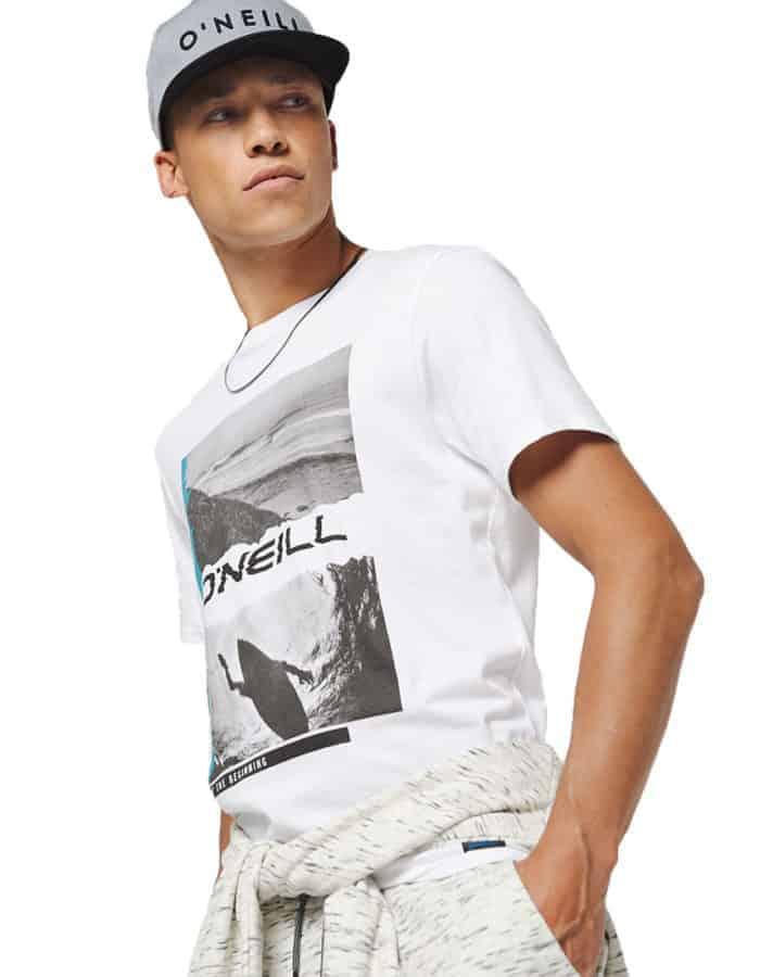 Seiche O'Neill biopamut póló fehér style1