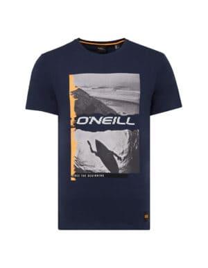 Seiche O'Neill biopamut póló sötétkék előröl