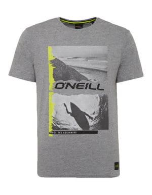 Seiche O'Neill biopamut póló szürke előröl