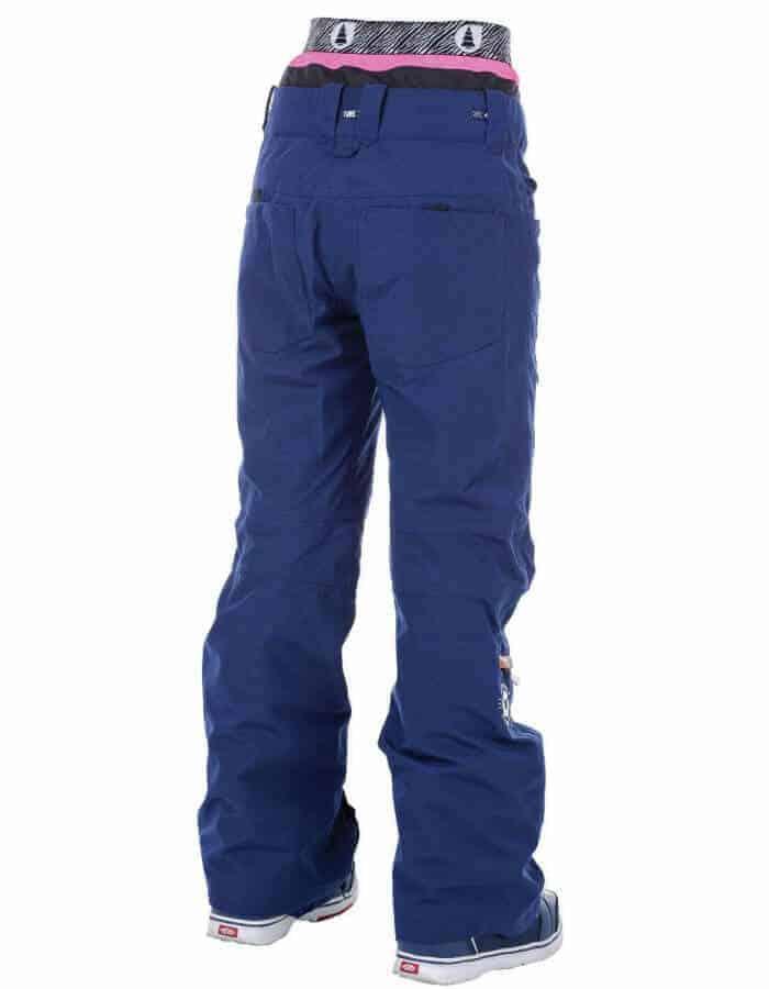 Slany női sínadrág - snowboard nadrág hátulról - Picture Organic Clothing