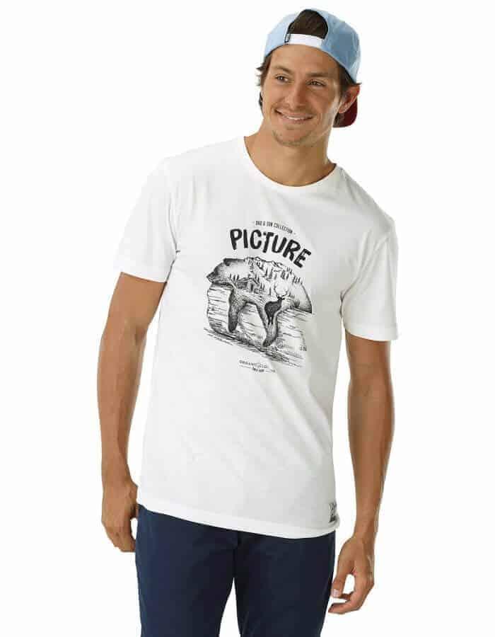 Sleepin bear biopamut férfi póló zoom