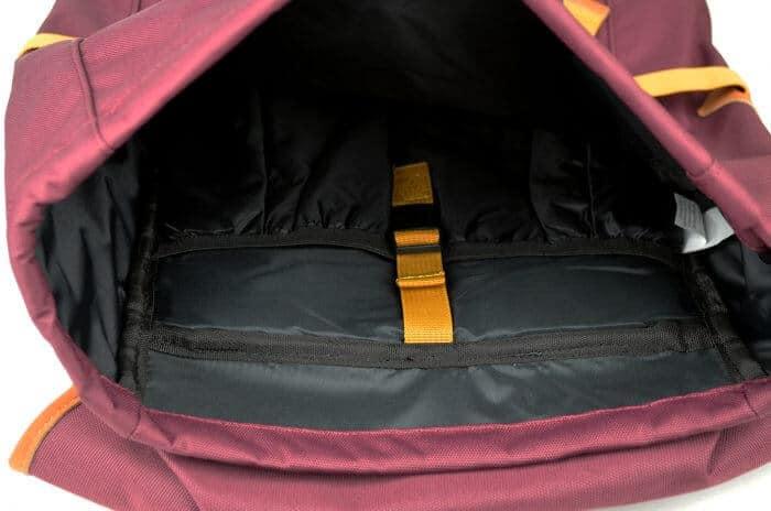 Soavy hátizsák belseje