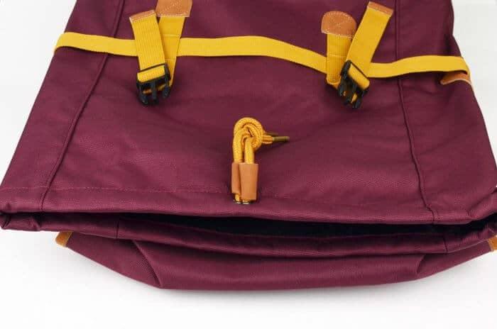 Soavy hátizsák felólről nézve