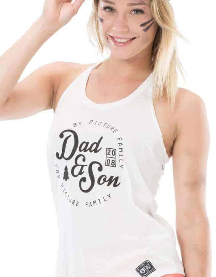 Sound póló - Dad & Son fehér
