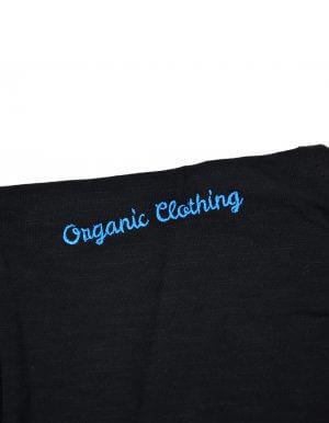 Tom biopamut póló fekete Organic