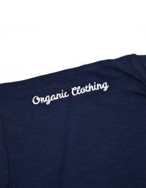 Tom biopamut póló sötétkék Organic