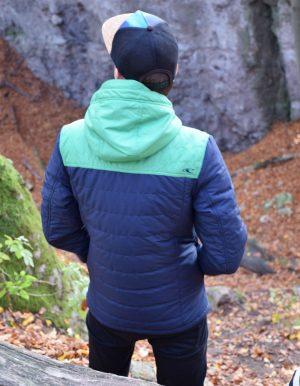 Transit férfi kabát lfestyle hátulról