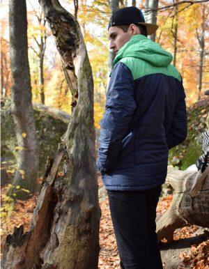Transit férfi kabát- Divatos kiegészítő őszi kirándulásra.