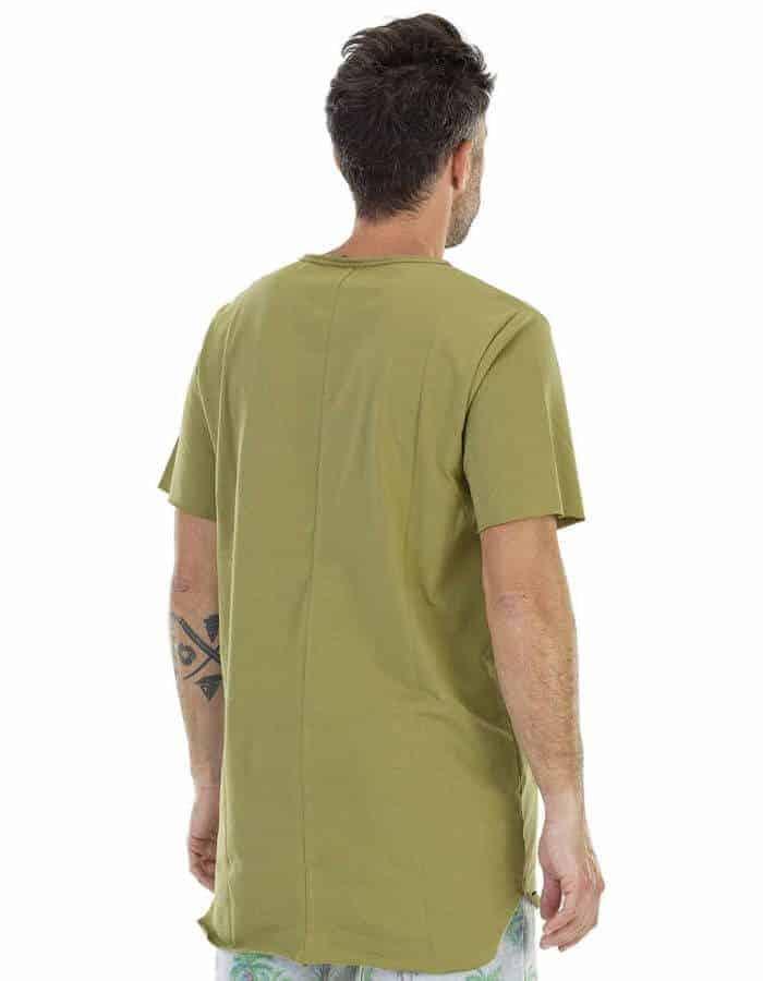 Waitomo póló zöld színben