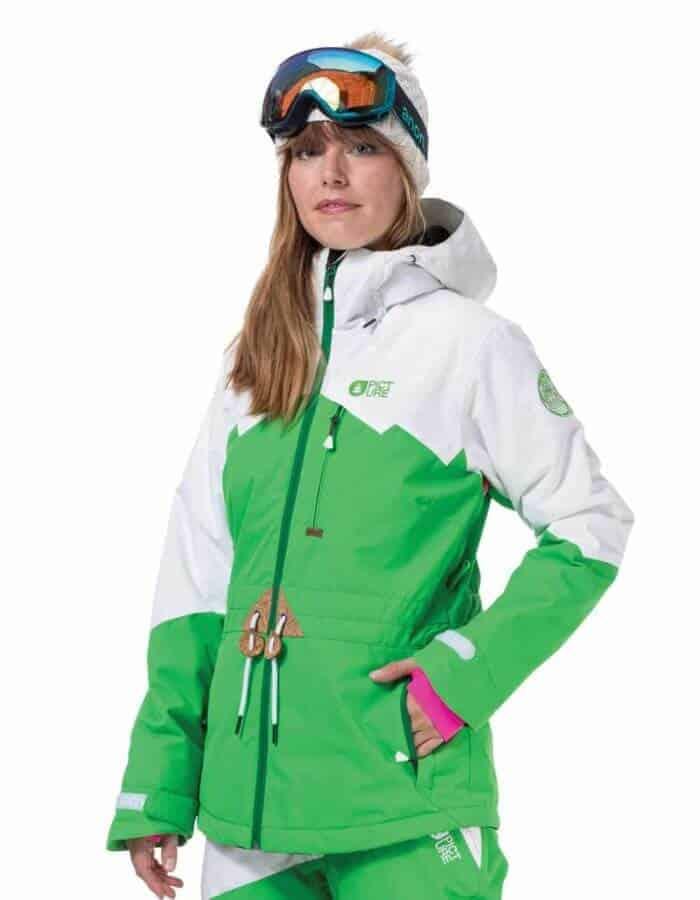 Weekend női síkabát zöld