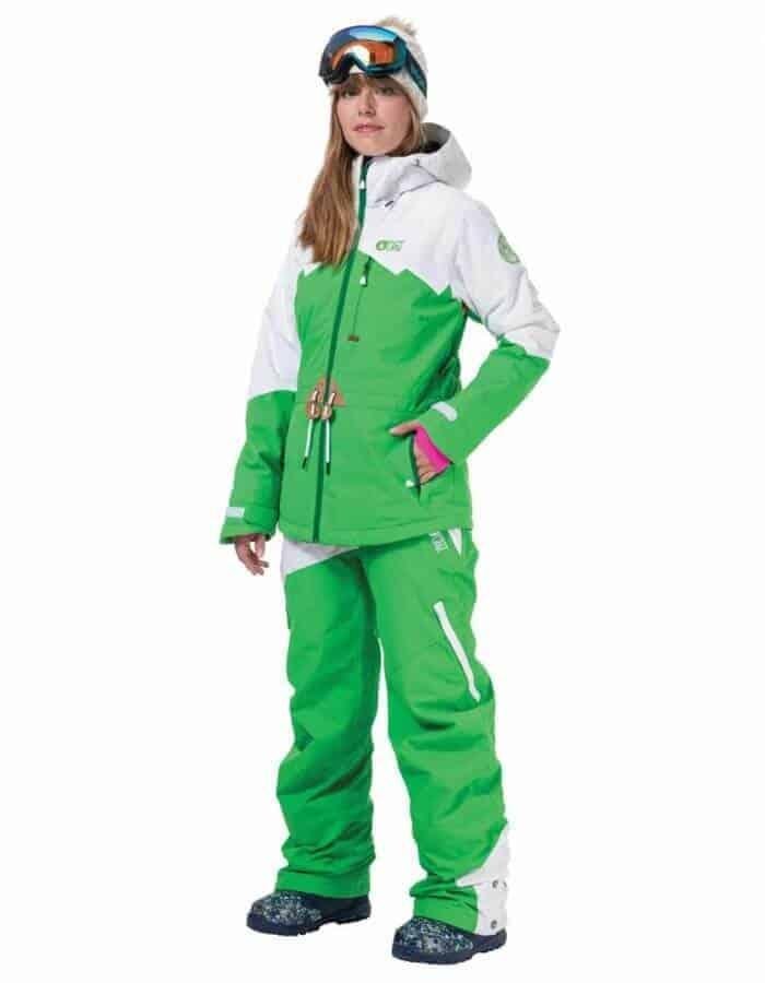 Weekend női síkabát zöld távoli