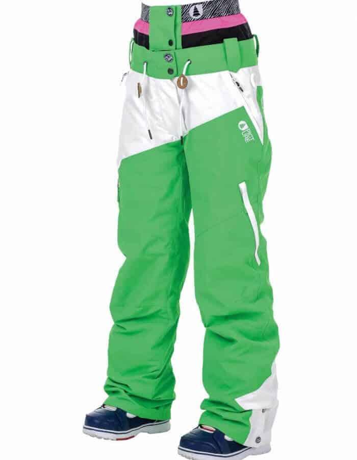 Weekend női sínadrág zöld