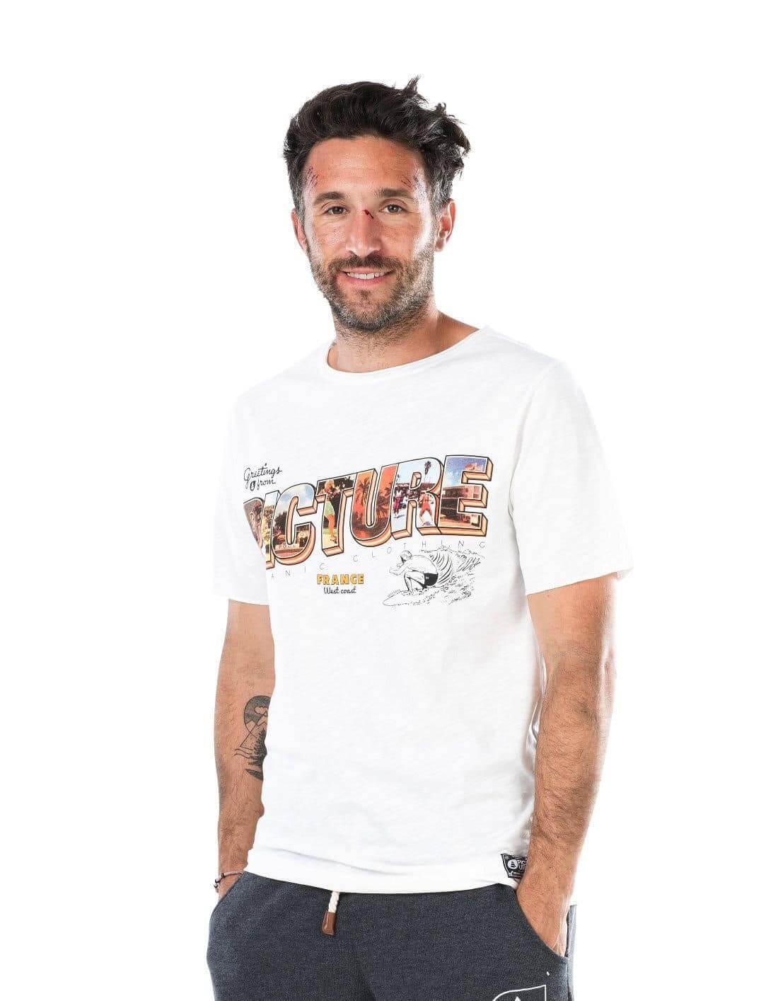 Westcoast póló - Biopamut férfi póló a szabadság élményével - EcoWear ceb144b95c