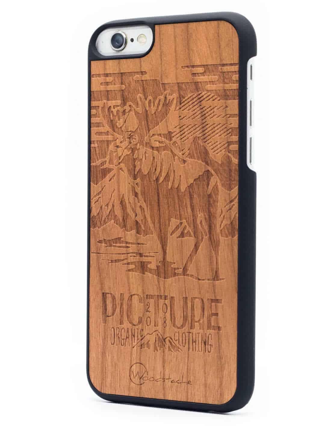 Woodstache x Picture fa iPhone 6-6s tok Moose oldalról