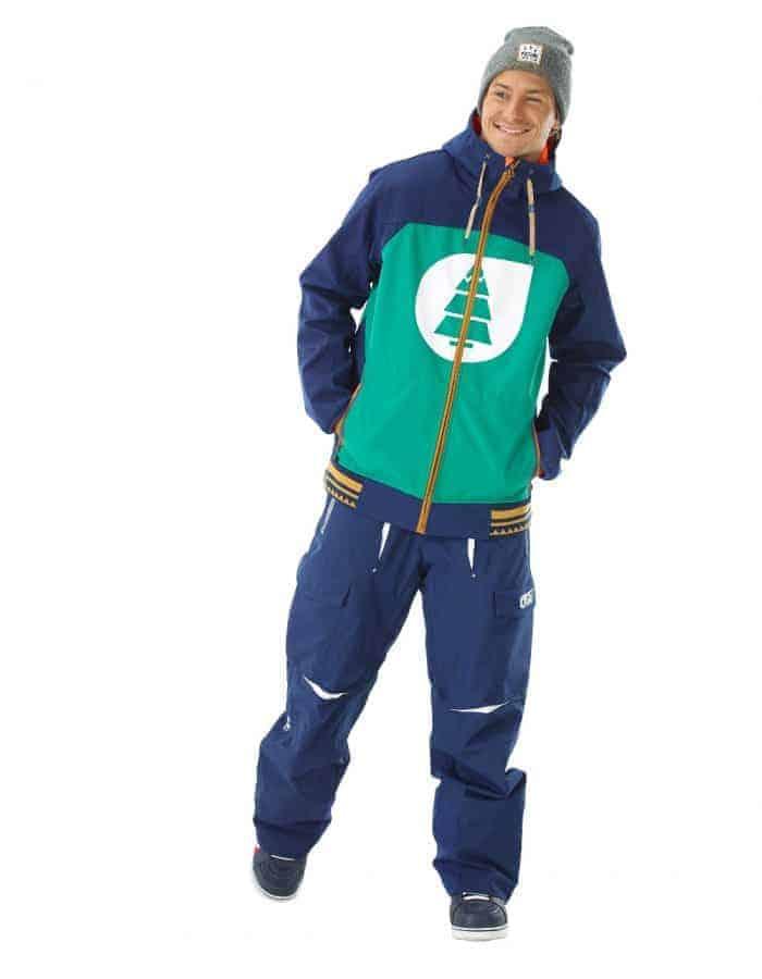 Zak újrahasznosított férfi síkabát full