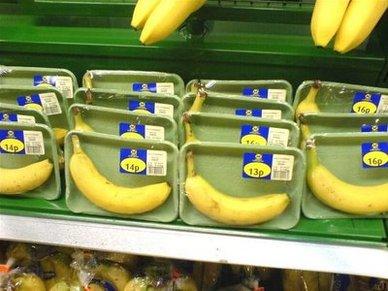 Túlzott csomagolás - banánok